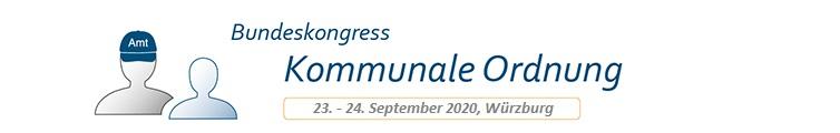 Bundeskongress Kommunale Ordnung